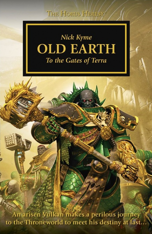 Programme des publications The Black Library 2017 - UK - Page 8 691239BLPROCESSEDOldEarthcover