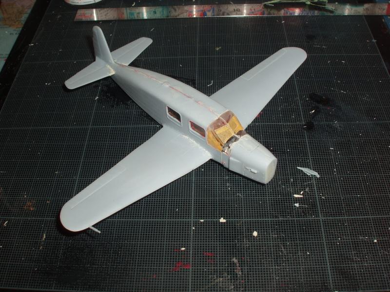 CAUDRON C-635 Simoun  (version Air Bleu). 1936  Heller 1/72. 691383cs2