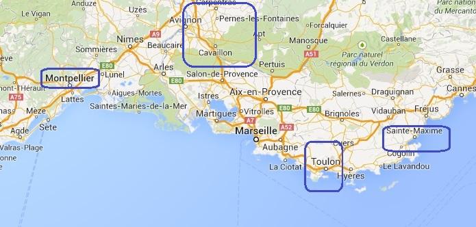 Montpellier [antenne locale] •Bƒ - Page 2 691873Cartemditerannebromptonkayakprojetsaison9
