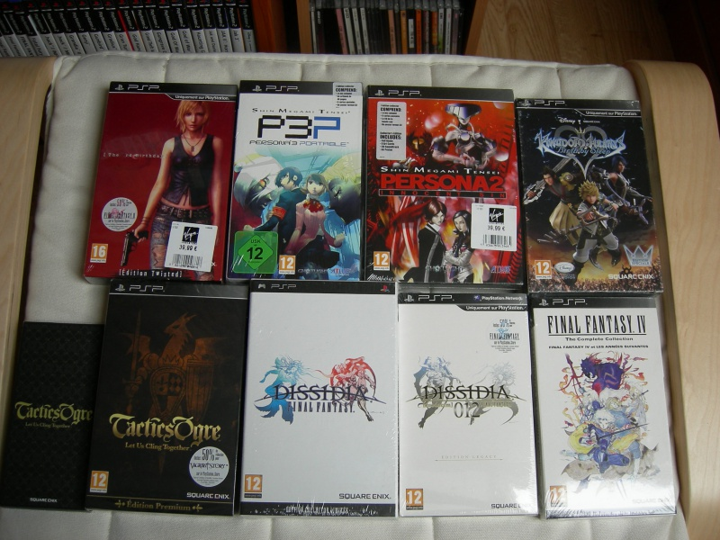 My collec ! Retro un jour.............. 692000CollectorPsp