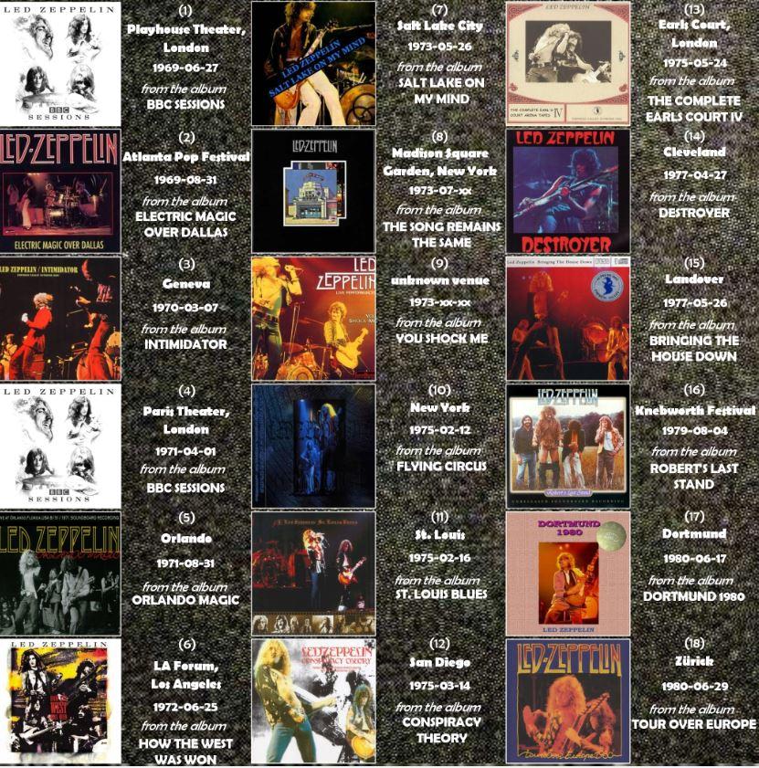 Anthologie Bootleg Live 692151HatsOffToLZbooklet