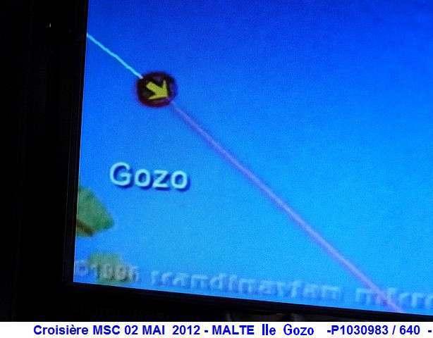 MSC Splendida Du 28 avril au 5 mai 2012 Gêne Barcelone Tunis La valette Taormine Messine Rome 692211P1030983