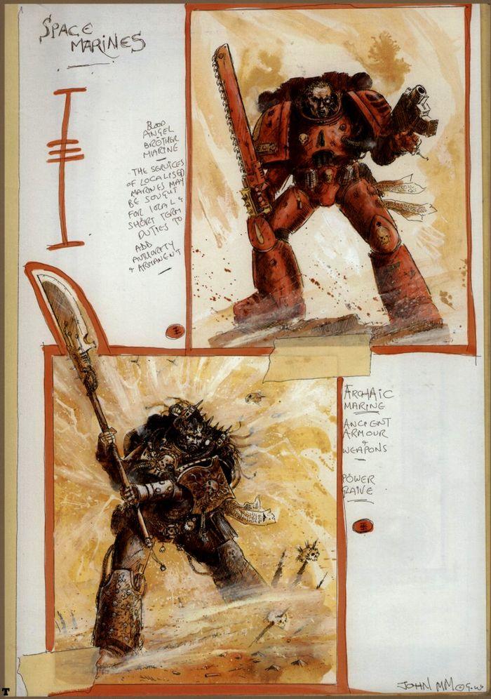 La Volonté de l'Empereur de John Blanche (Art Book) - Page 2 692852Blanche9