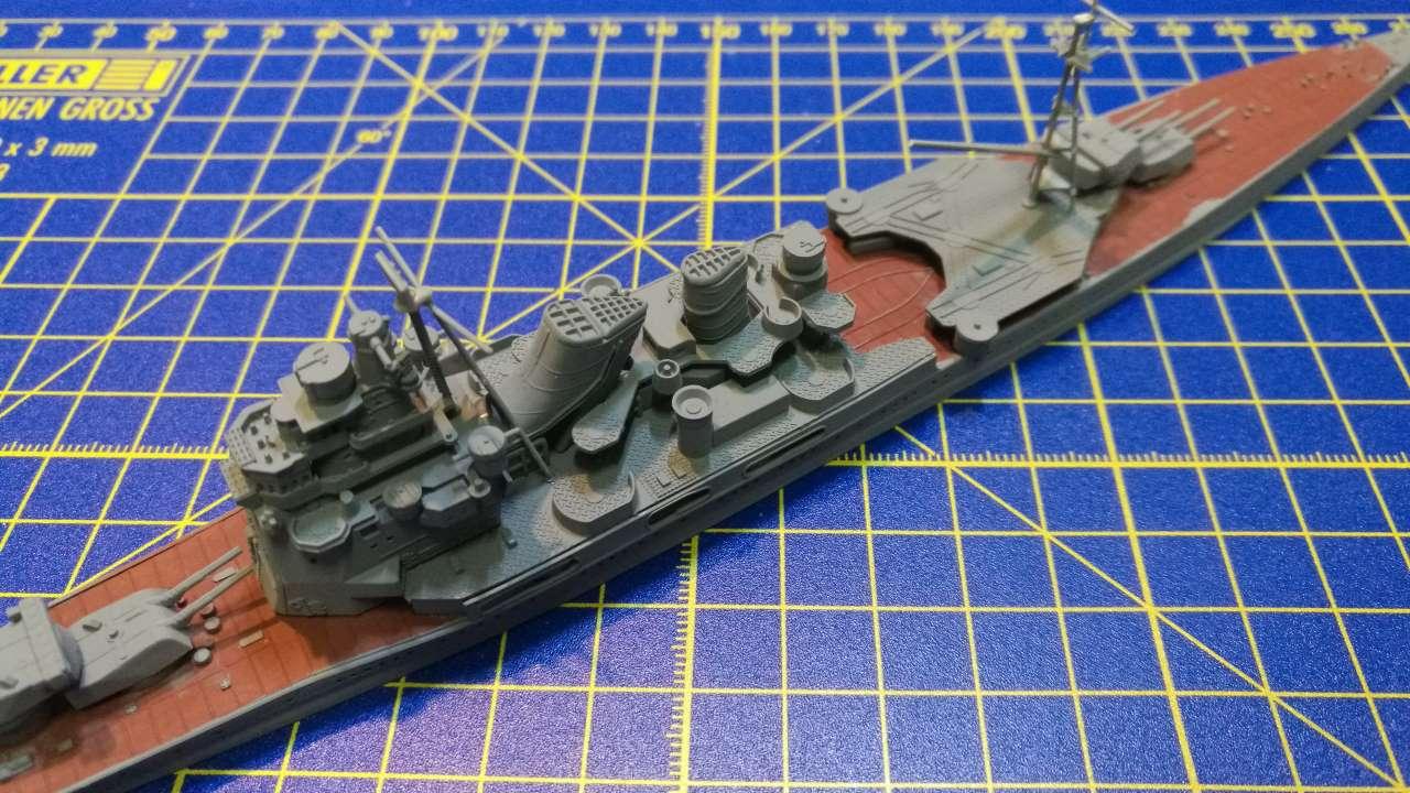 Croiseur TAKAO 1944 1/700 Pit-Road 695470Takao25