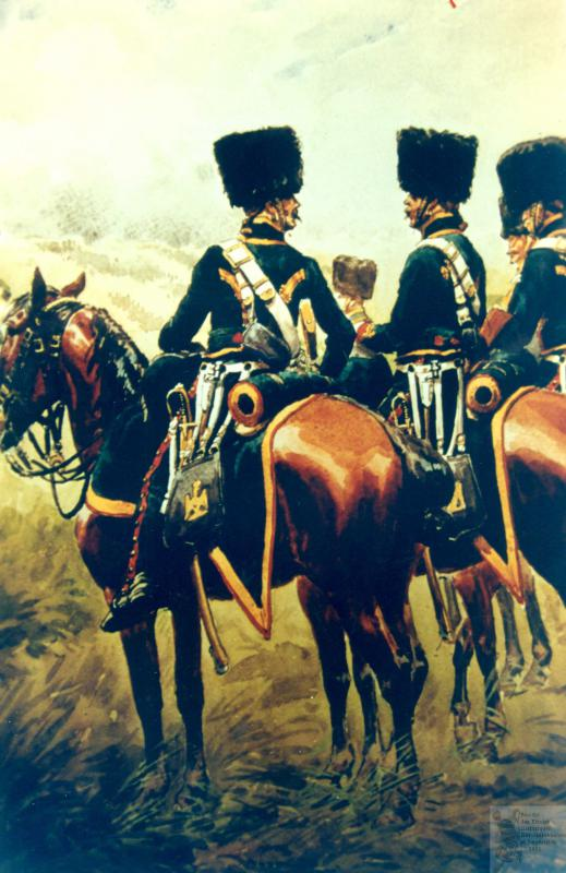 Les chasseurs à cheval de la Garde 697278CCGI16