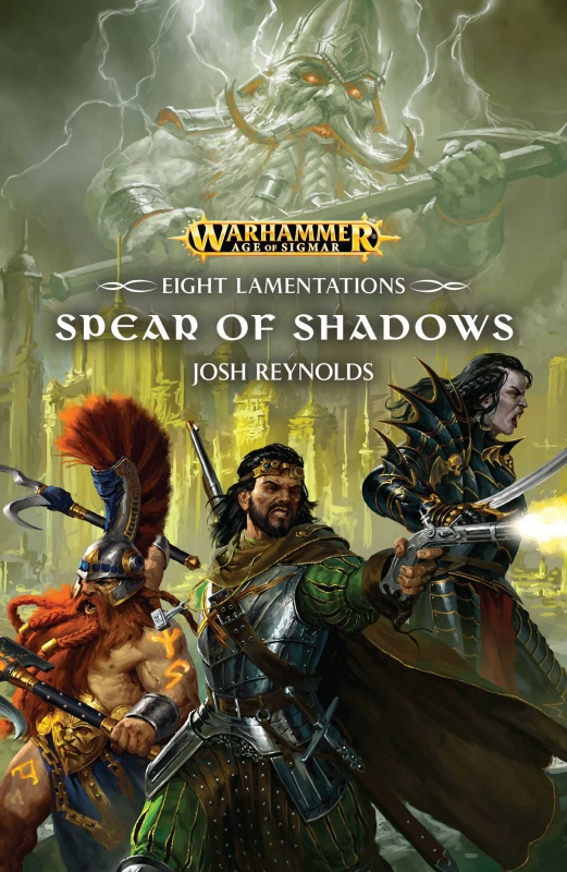 Eight Lamentations: Spear of Shadows de Josh Reynolds 69735581tDK6TKFL