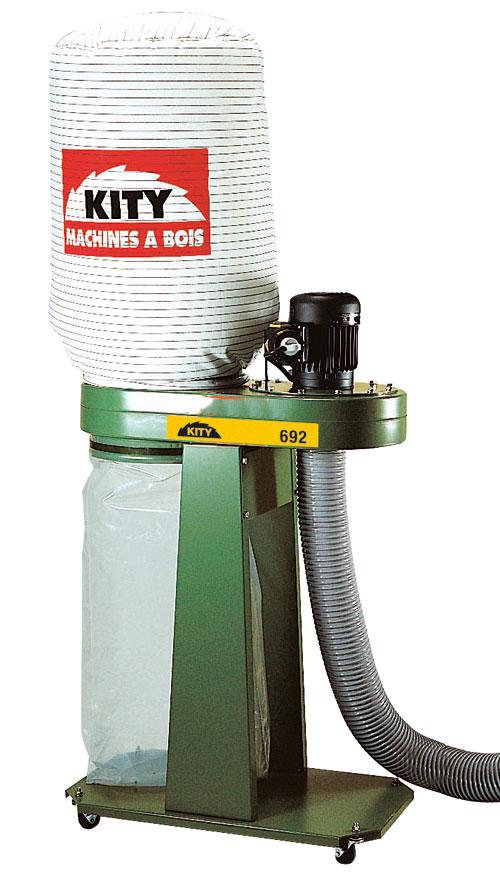Expériences autour d'un aspirateur Kity 692 698237Kity692