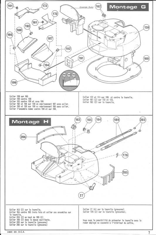 AMX 30 DCA - (Réf. L811) 1/35 698758HellerAMX30DCA811007