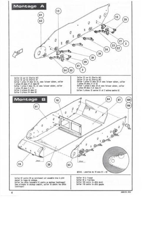AMX 13 Canon de 105 [ Heller ] 1/35 69916613105004