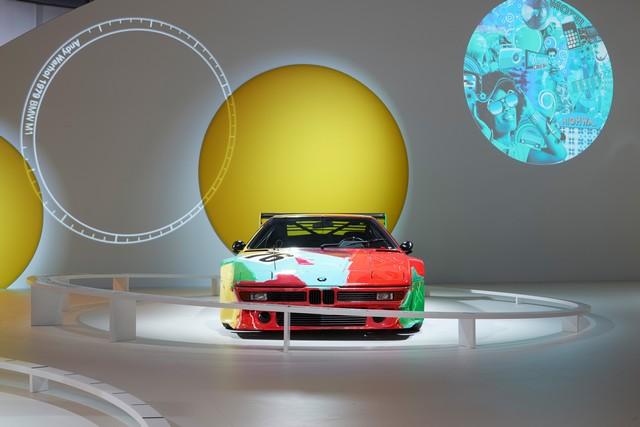 BMW célèbre ses 40 ans de BMW Art Cars 700778P90185163