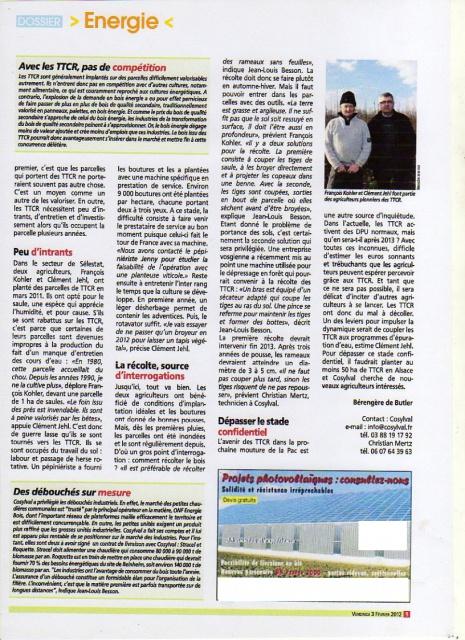NRJ , chaudières à plaquettes, nettoyage panneaux photovoltaïques 7013809TCR