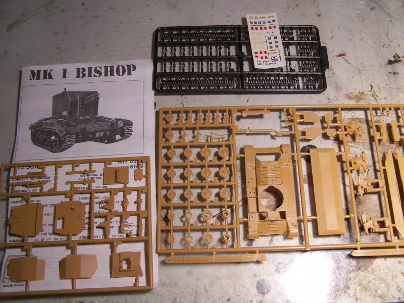 Bishop mk 1 Italie ,debut 1943 7023251005643
