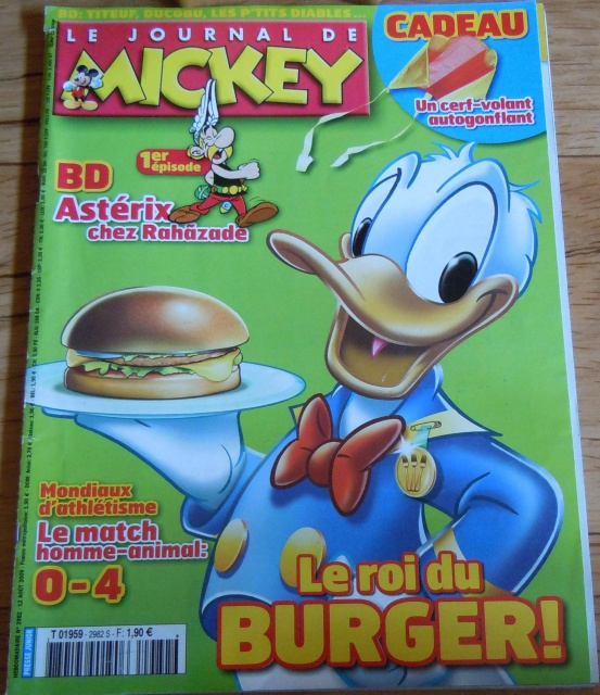 Astérix dans les magazines pour enfants 70480874a