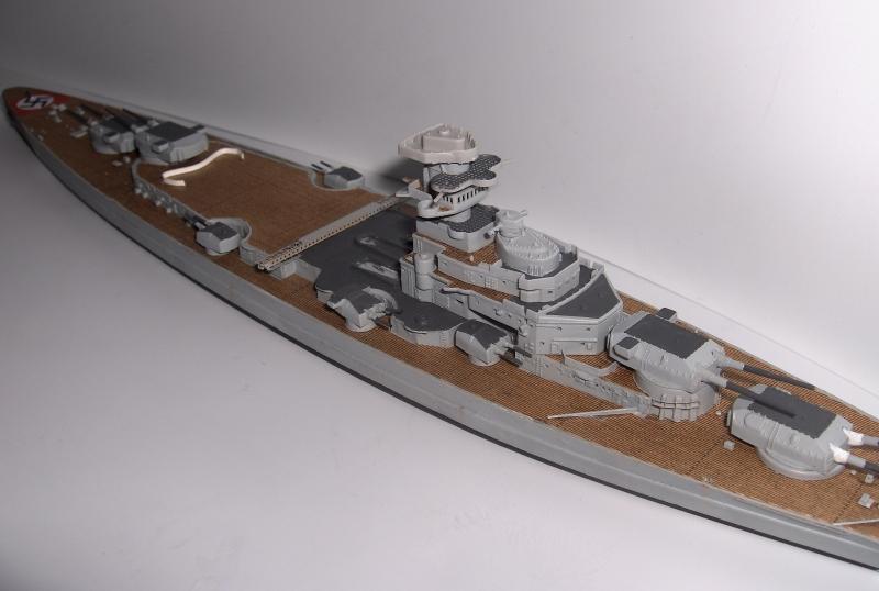 Bismarck 1/700 [Trumpeter] 706415HPIM1999