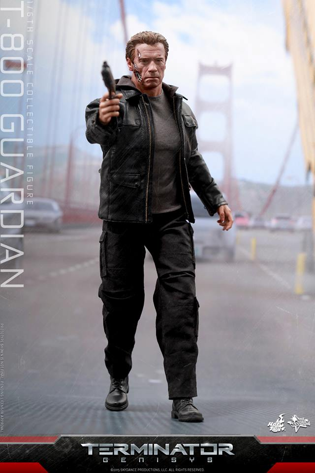 HOT TOYS - Terminator Genisys - T-800 Guardian 706698104