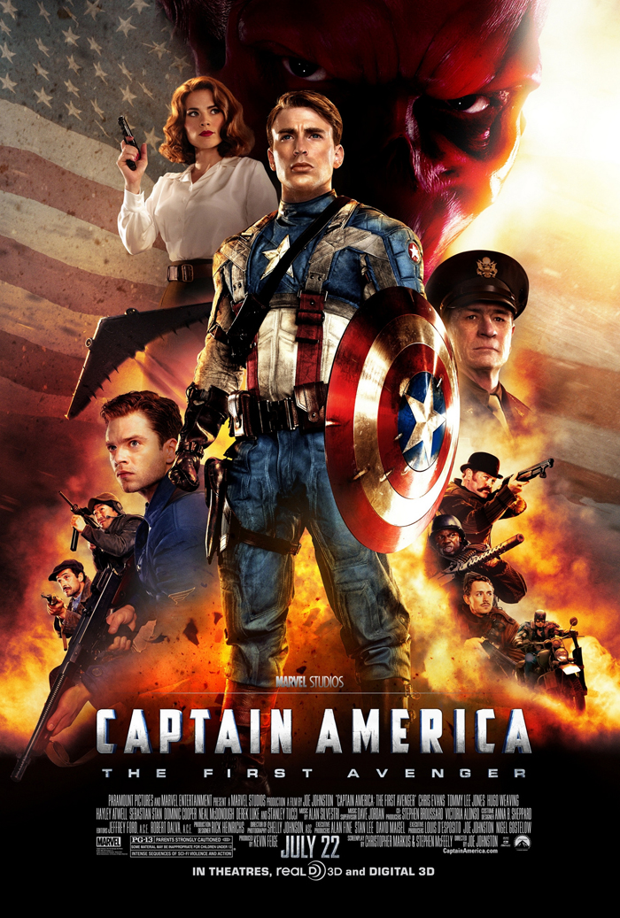 Franchise Marvel/Disney #3 707208CaptainAmericaTheFirstAvenger