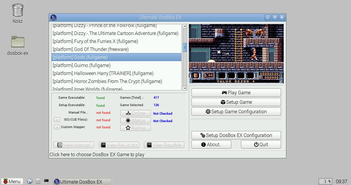 DosBox EX Ultimate sur Pi2 7075865f0ykm