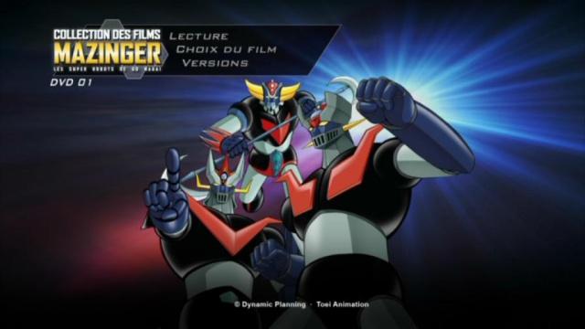 Collection des films Mazinger : les super-robots de Gô Nagaï. 708304PDVD007