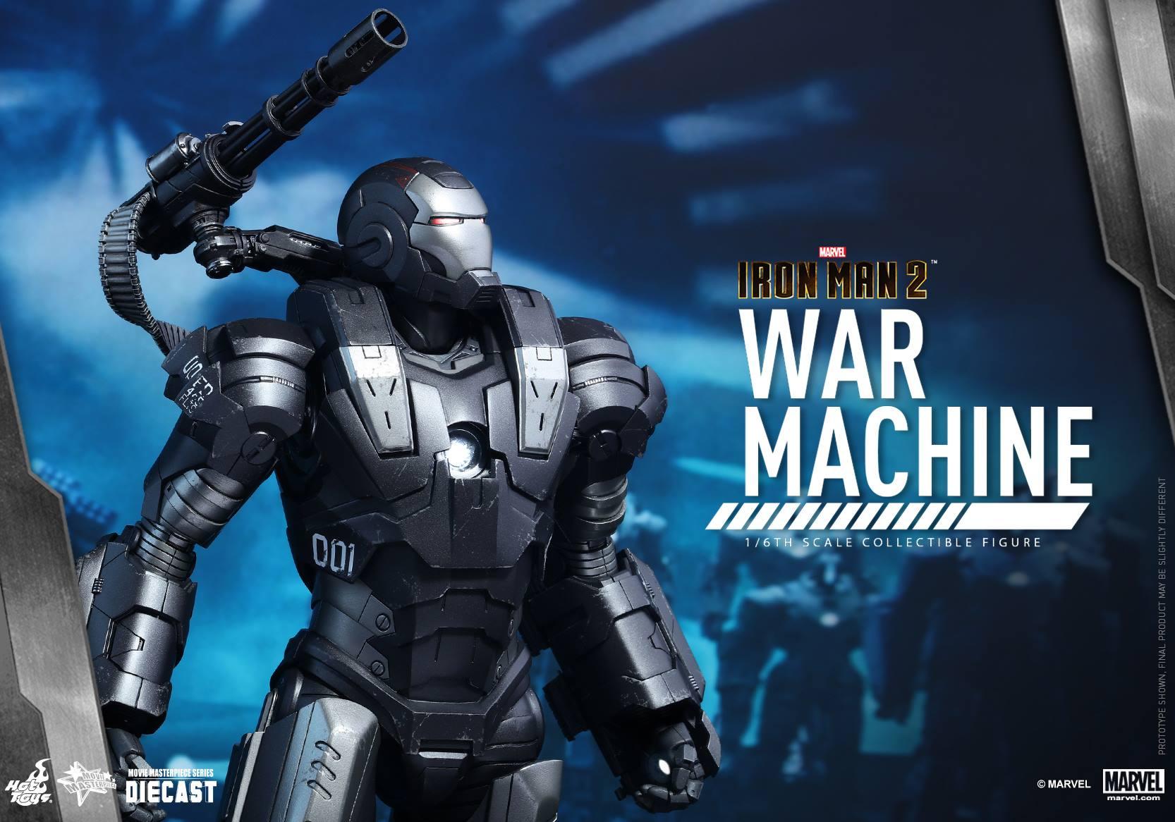 HOT TOYS - Iron Man 2 - War Machine Diecast 709485113