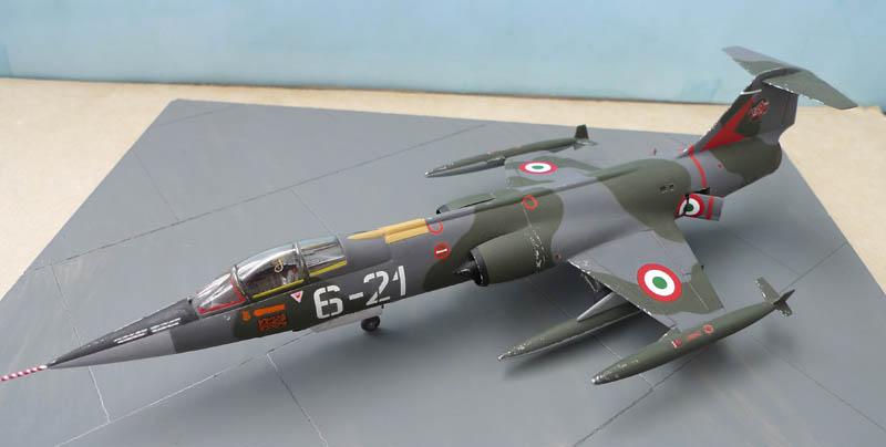 [Heller] - F 104 Starfighter à la sauce italienne. 709614F10401