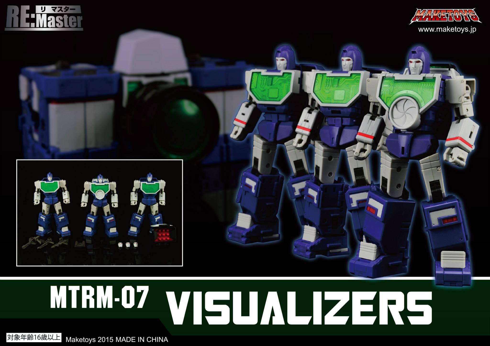 [Maketoys] Produit Tiers - Jouets MTRM-07 Visualizers - aka Reflector/Réflecteur 712446MTRM07007