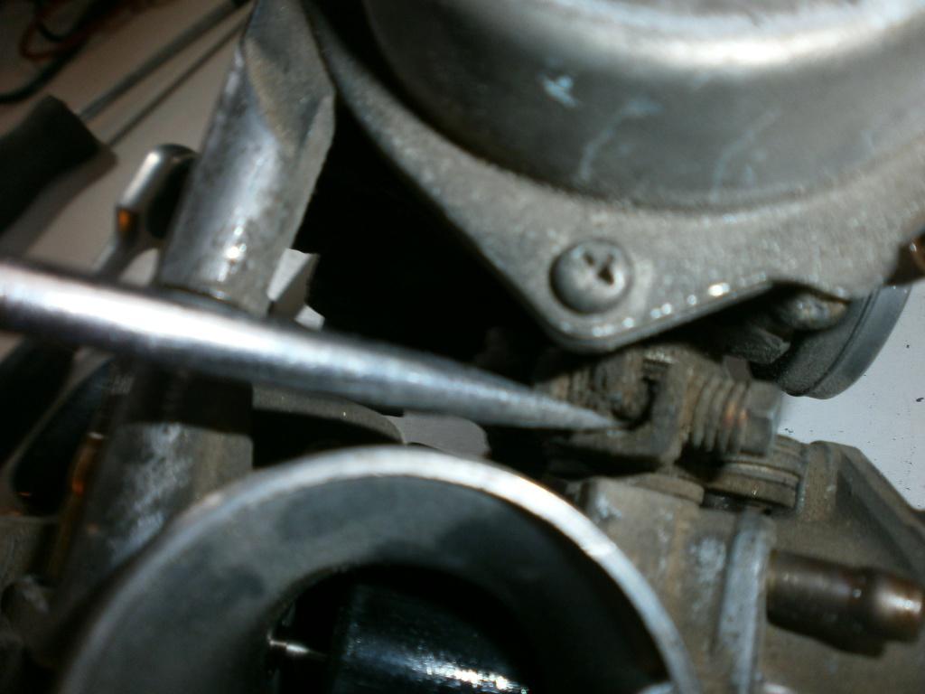 Nettoyage carburateurs de transalp 600 713131P1270011