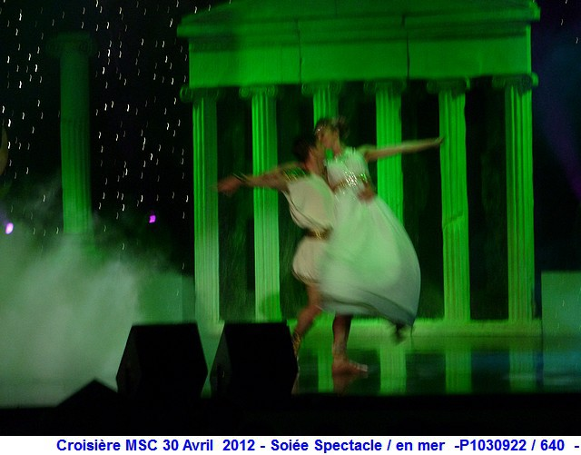 MSC Splendida Du 28 avril au 5 mai 2012 Gêne Barcelone Tunis La valette Taormine Messine Rome 713596P1030922