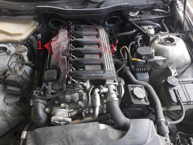 [BMW 530 d E39] Réparation raccord canneler sur pompe HP 713798201701281407351