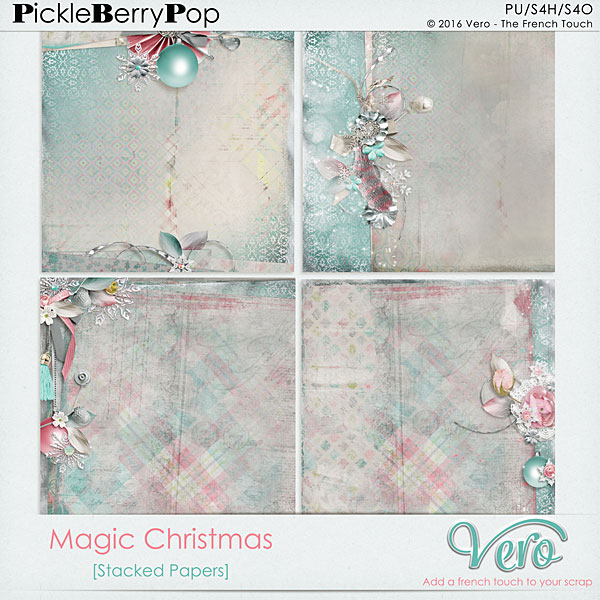 Véro - MAJ 02/03/17 - Spring has sprung ...  - $1 per pack  - Page 10 714955Veromagicchristmasstackedpv