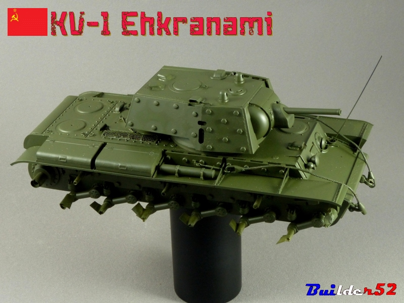 KV-1 Ehkranami  -  TRUMPETER 1/35 - Page 3 715424P1030170