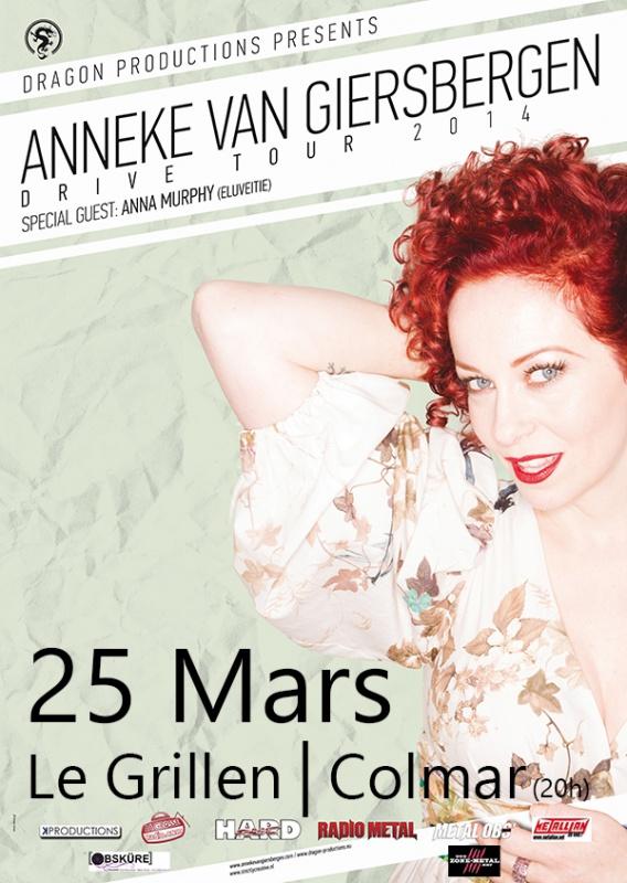 ANNEKE VAN GIERSBERGEN+ ANNA MURPHY 25 MARS AU GRILLEN  (68) 715909ANNEKEFlyerColmarIV