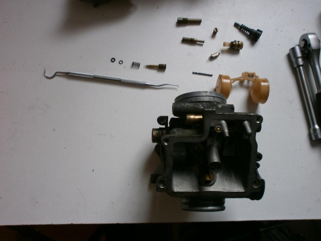 Nettoyage carburateurs de transalp 600 716423P1280012