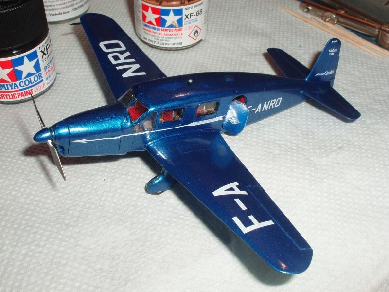 CAUDRON C-635 Simoun  (version Air Bleu). 1936  Heller 1/72. 717235cs26