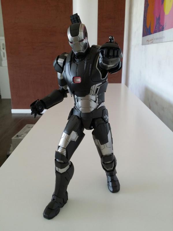 """red360 collec"""": War Machine MKII Diecast Hot Toys 717668201407161553541"""