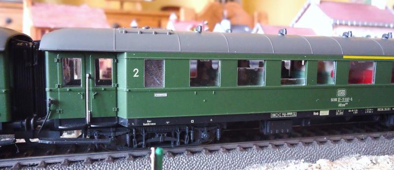 Roco ho: voitures de la DB pour train express 717705DSC03560