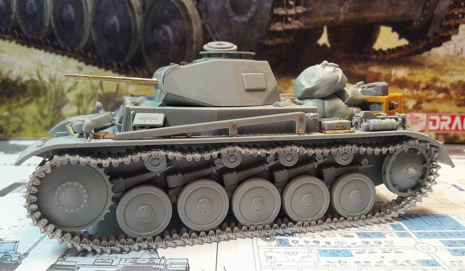Pz.Kpfw.II Ausf.F - Kharkov 1/35 - Page 3 717873BuildStepTrackLeft