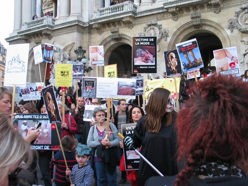 07 - Marche contre la fourrure - Paris 19 novembre 2011. 719635IMG6631