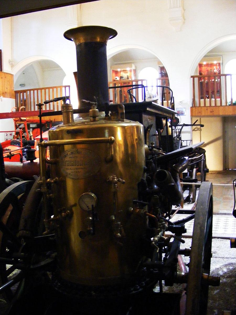 Bagnoles de l'Orne - Musée départemental des pompiers. 720097DSCF1718z9