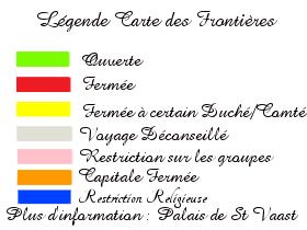 Etat des Frontières 720241Legendecartefrontiere1462