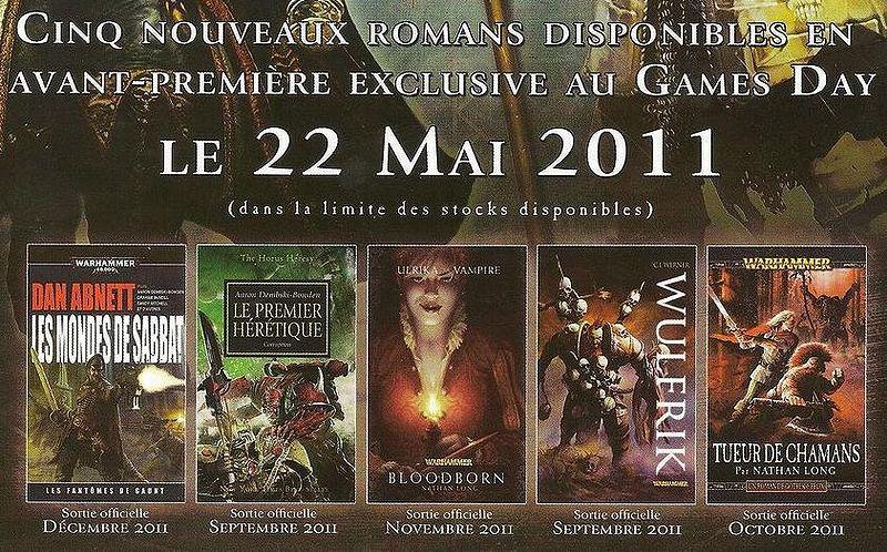 News de la Black Library (France et UK) - 2011 721705GamesdayBL