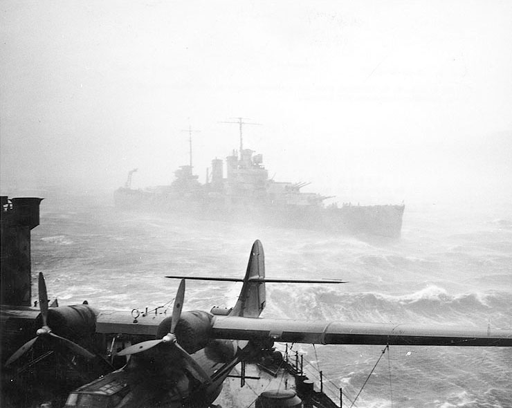 USN CROISEUR LOURD USS WICHITA 722051USSWichitaCA45Islande