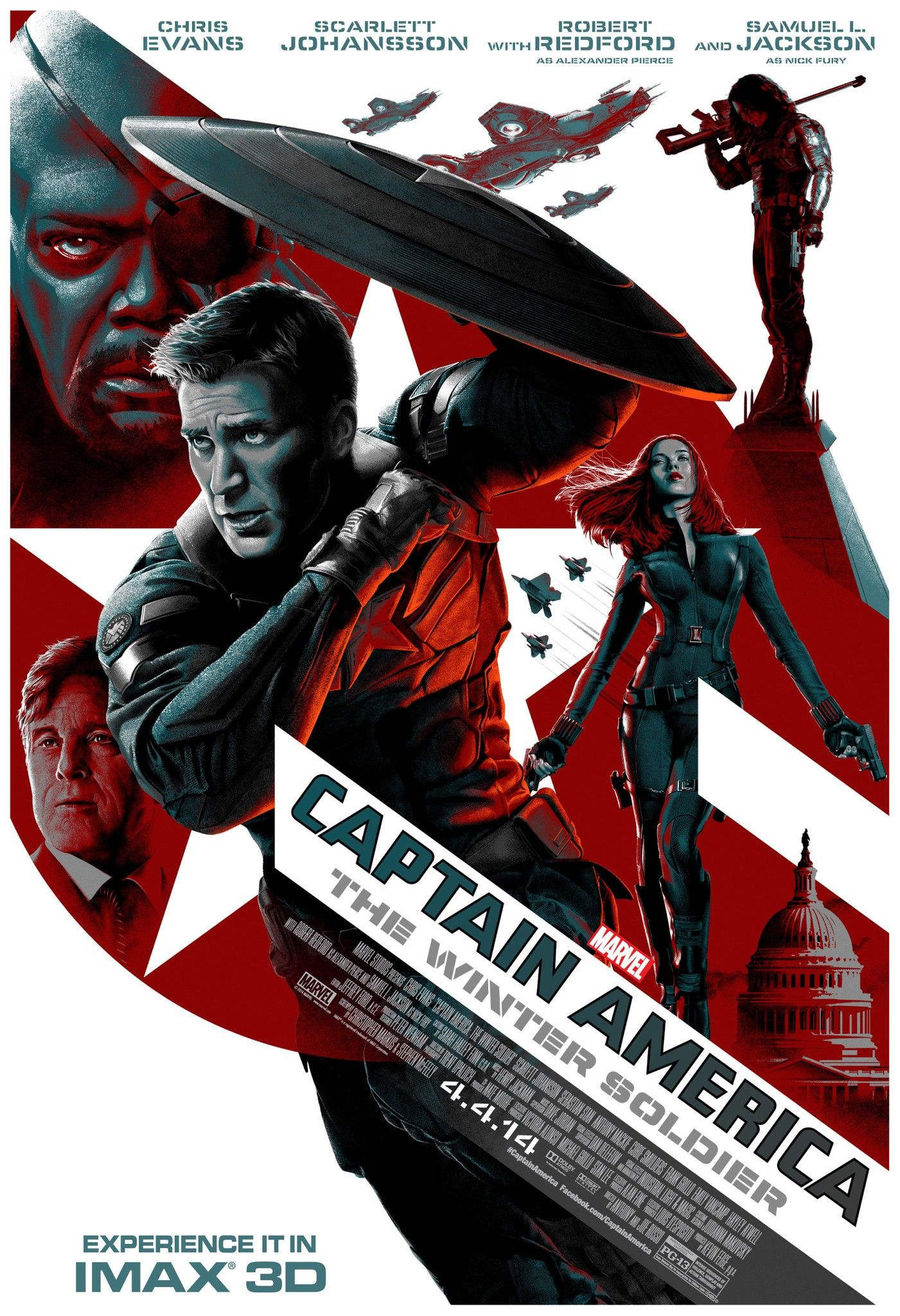 Captain America : The Winter Soldier 723095Posters28