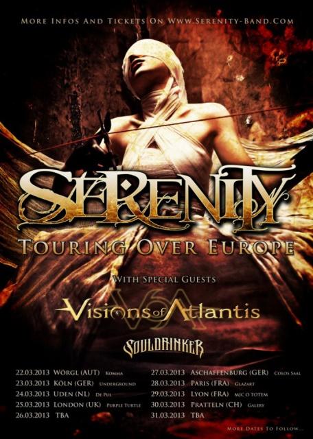 29/3 : SERENITY - VISIONS OF ATLANTIS @ Lyon 723277Serenitytourposter