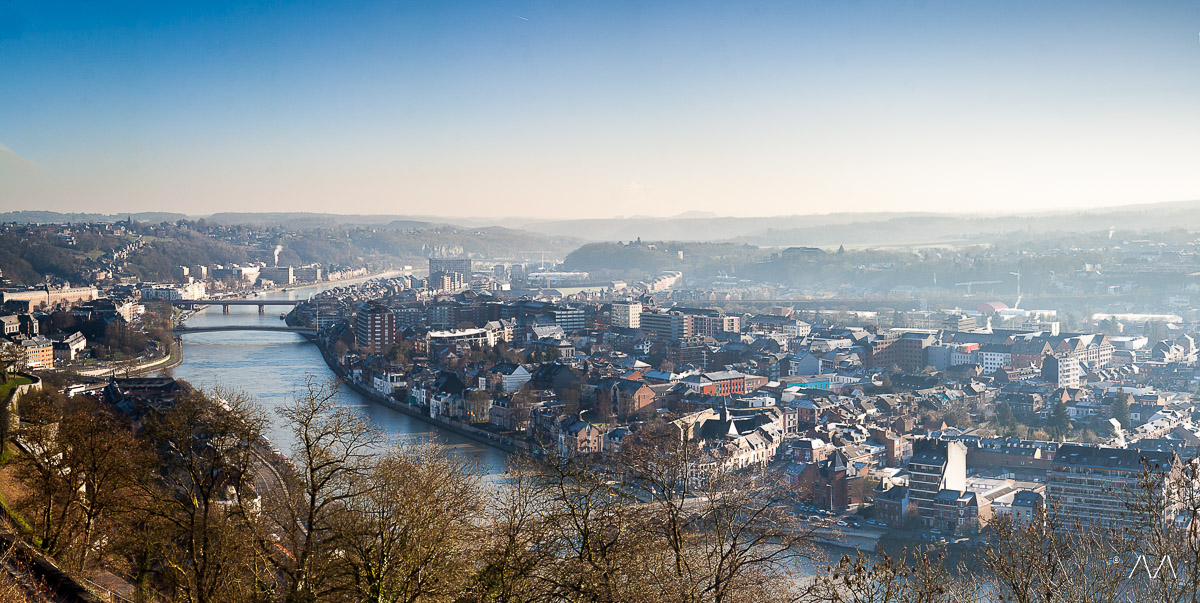 Namur, point de vue de la citadelle 724819MichaelDemarsPhotography
