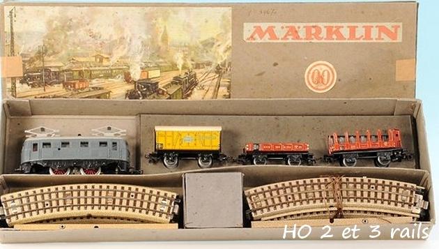 Coffrets Märklin 1936 - 1968 (rouges, noirs, verts ou bleus) 725079MarklinzugpackungRS7903grisR