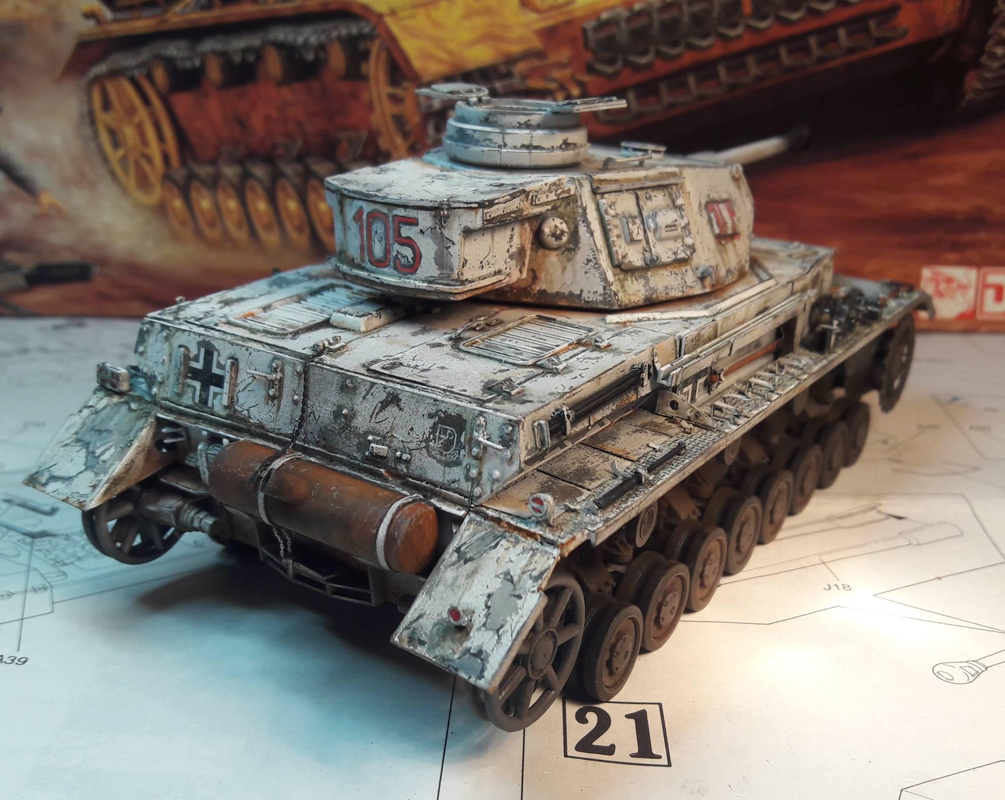 PzKpfw. IV Ausf. F2 - Dragon - Page 3 725324BeforeTracks3