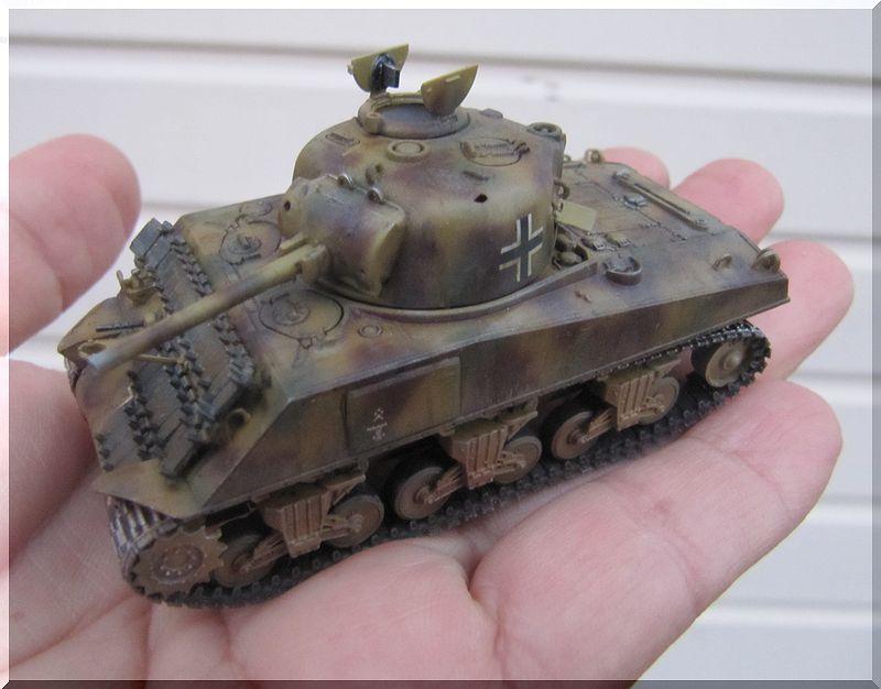Beutepanzer Sherman M4A2 - Dragon - 1/72ème  725486termin8