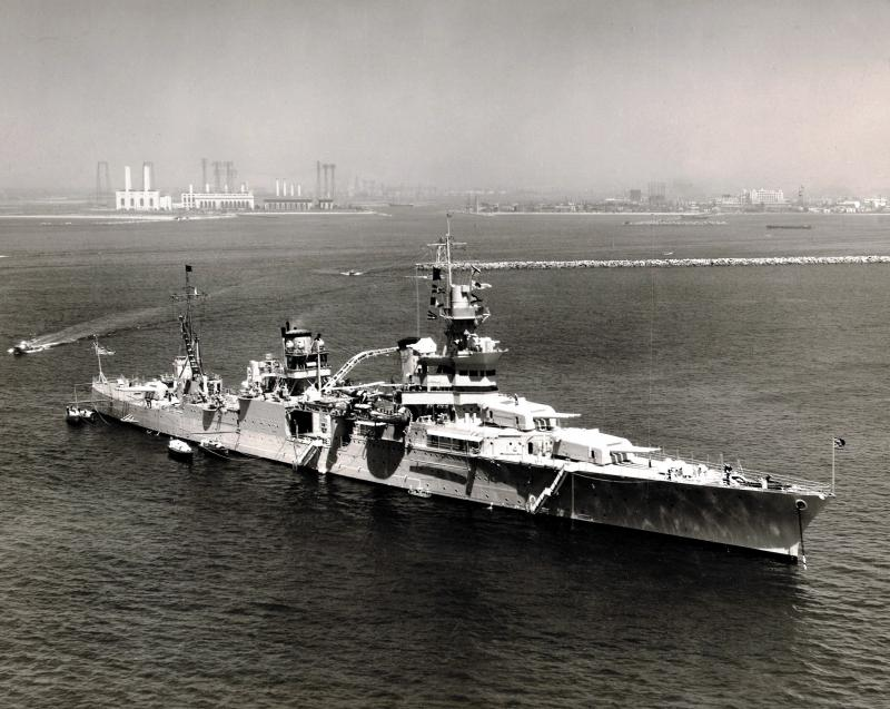 USN CROISEUR LOURD USS WICHITA 725539USSIndianapolisCA352