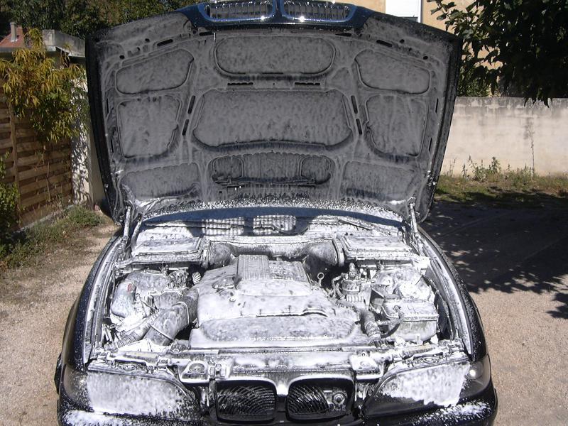 [BMW 530 d E39] Renaissance d'un Cosmos Schwarz Metallic 725615P1000460