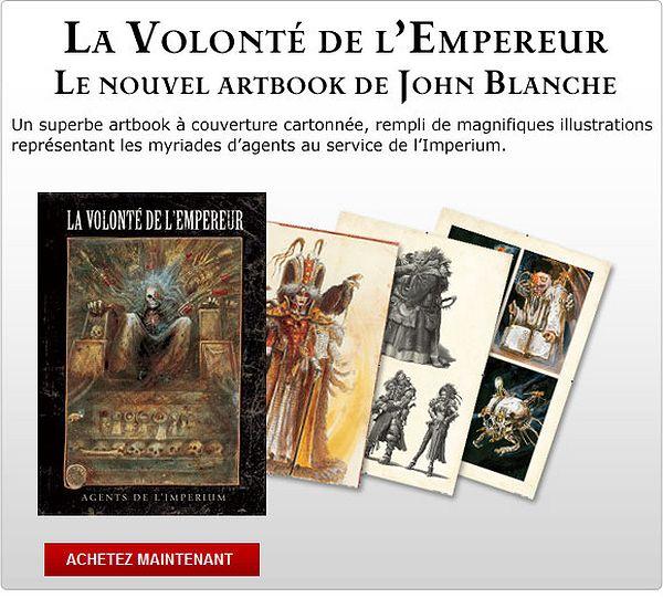 La Volonté de l'Empereur de John Blanche (Art Book) - Page 4 726617fremperorswill01